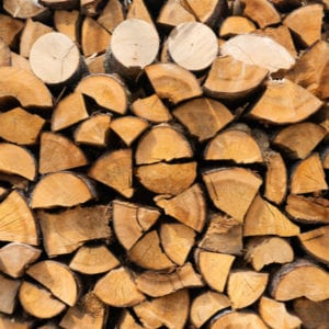 A great way to reuse your Christmas tree is to chop it into Christmas firewood for your outdoor fireplace or fire pit.